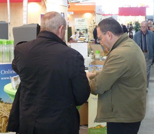 Slow-food-Messe Stuttgart, bekannte Biomarken, einige Entdeckungen ...