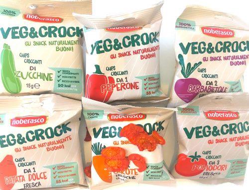 Knackiges Gemüse zum Snacken – 100 % Gemüse, lecker und ohne unnötige Kalorien aus Italien von Noberasco