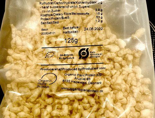 Ein tolles pflanzliches Bio-Protein aus 80% Erbse und 20% Bohne