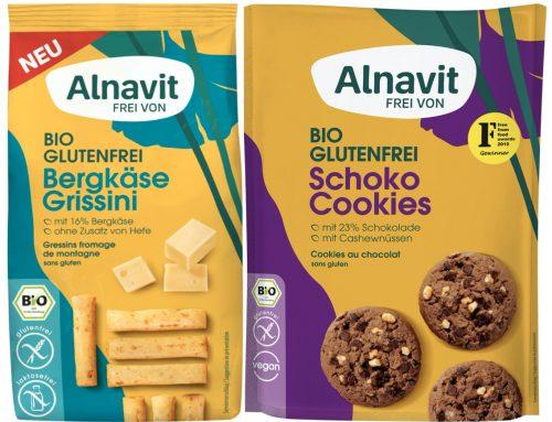 Glutenfrei kann dank Alnavit richtig lecker schmecken